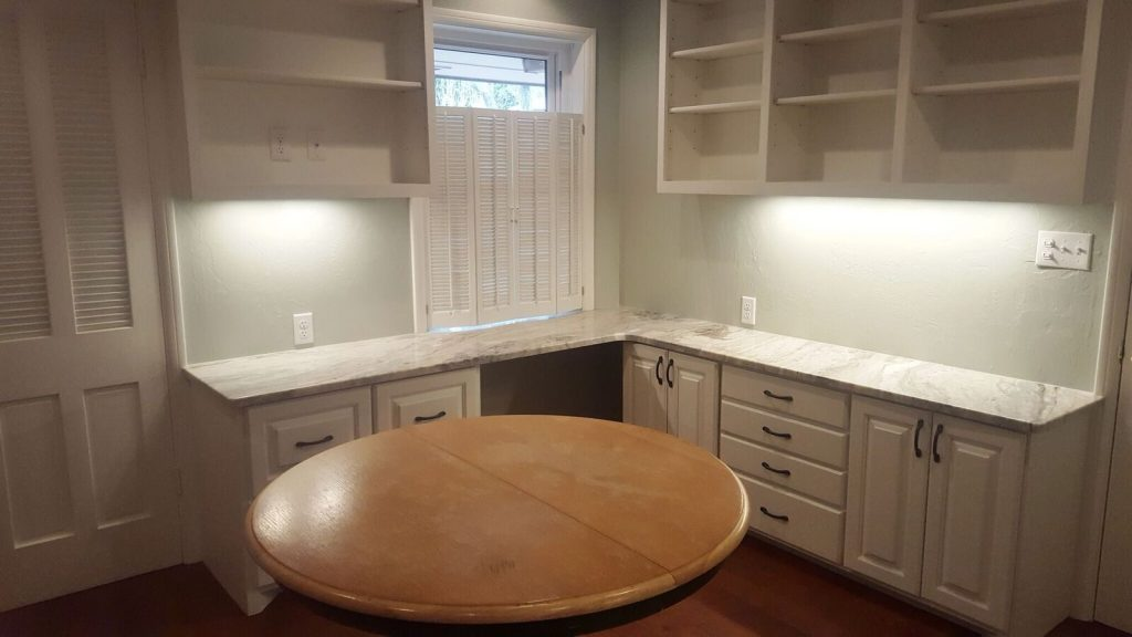 Addition kitchen/dinning room installed